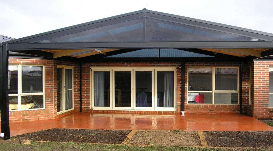 Roof Design Ideas: Steel Outdoor Pergolas